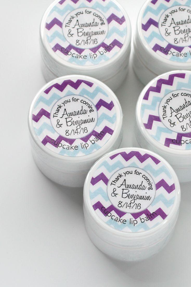 Bachelorette Lip Balm Favors + Custom Labels | Bridal showers ...