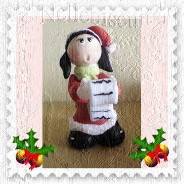 Boneca cantora - Peça decorativa para o natal