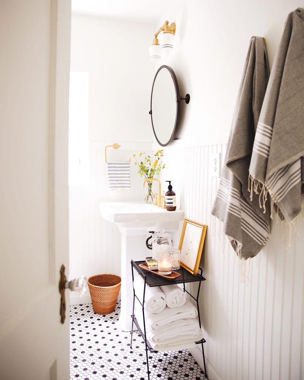 Retro Bathroom Makeovers new darlings:our hallway bathroom: the reveal - new darlings