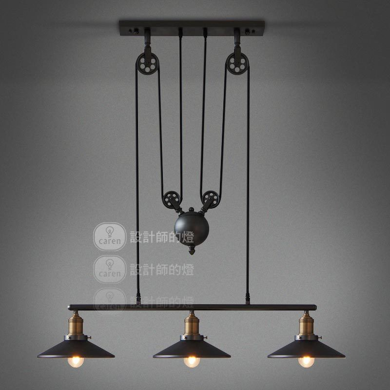Vintage Loft Industrial Led American Country Ceiling Lamp Pendant
