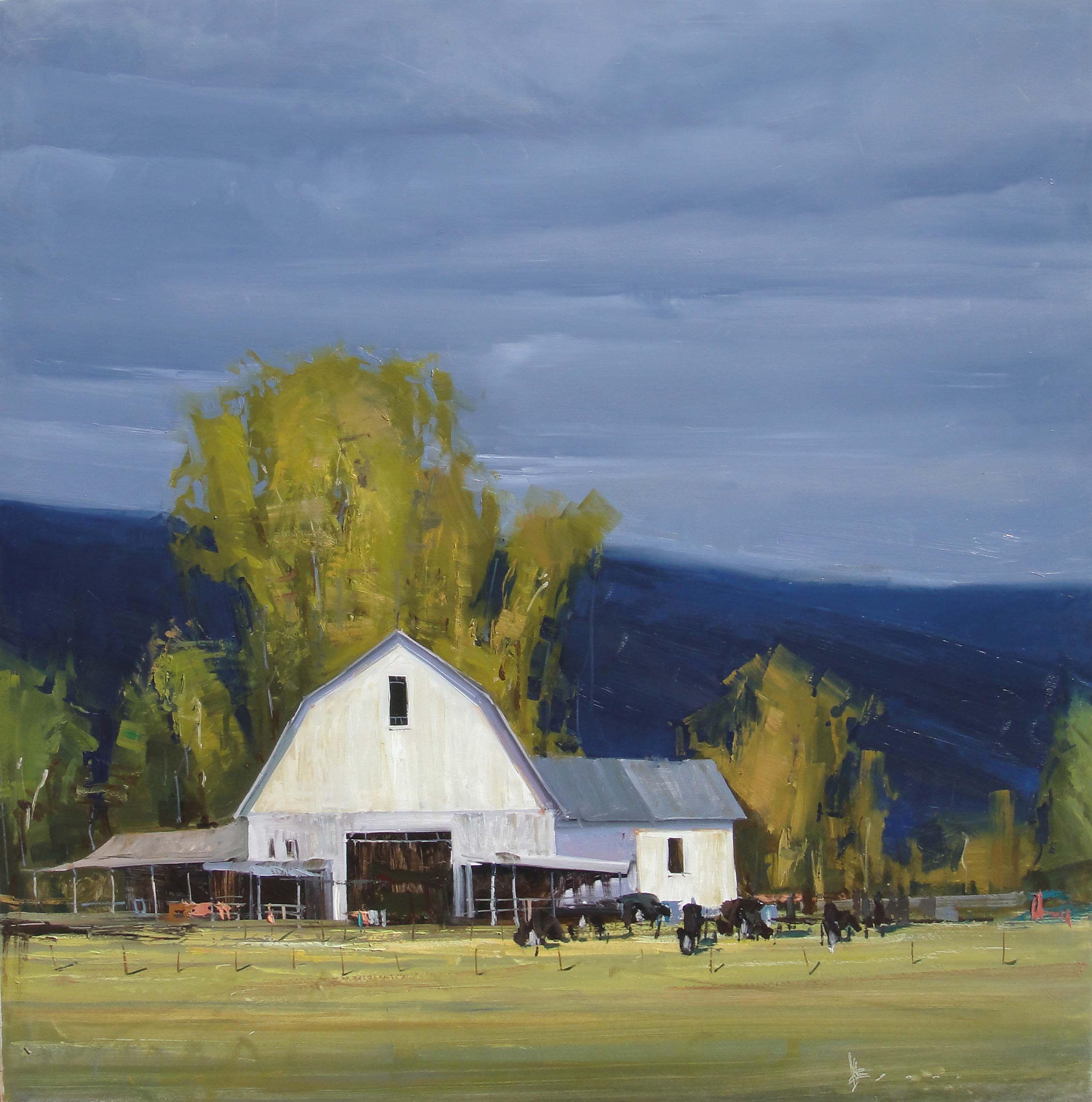 Josh Clare 2013 White Barn Barns Art Farm