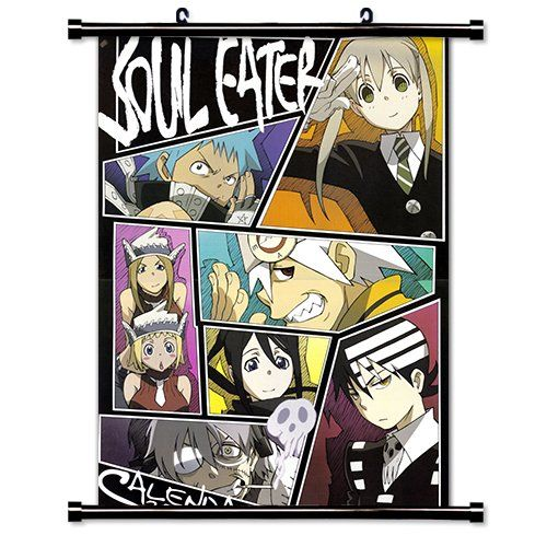 Soul eater anime fabric wall scroll poster 16 x 22 inches soul eater anime fabric wall scroll poster x inches fabric wall scroll poster find this pin and more on diy solutioingenieria Images