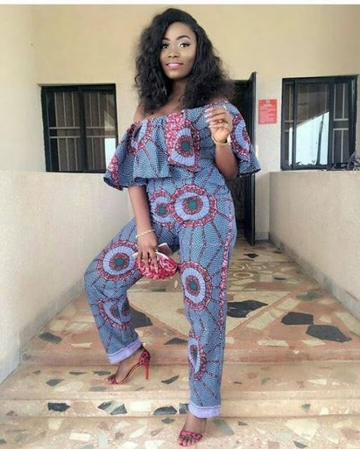 56612e791913c Online Hub For Fashion Beauty And Health  Lovely And Stylish Ankara  Jumpsuit Style For The