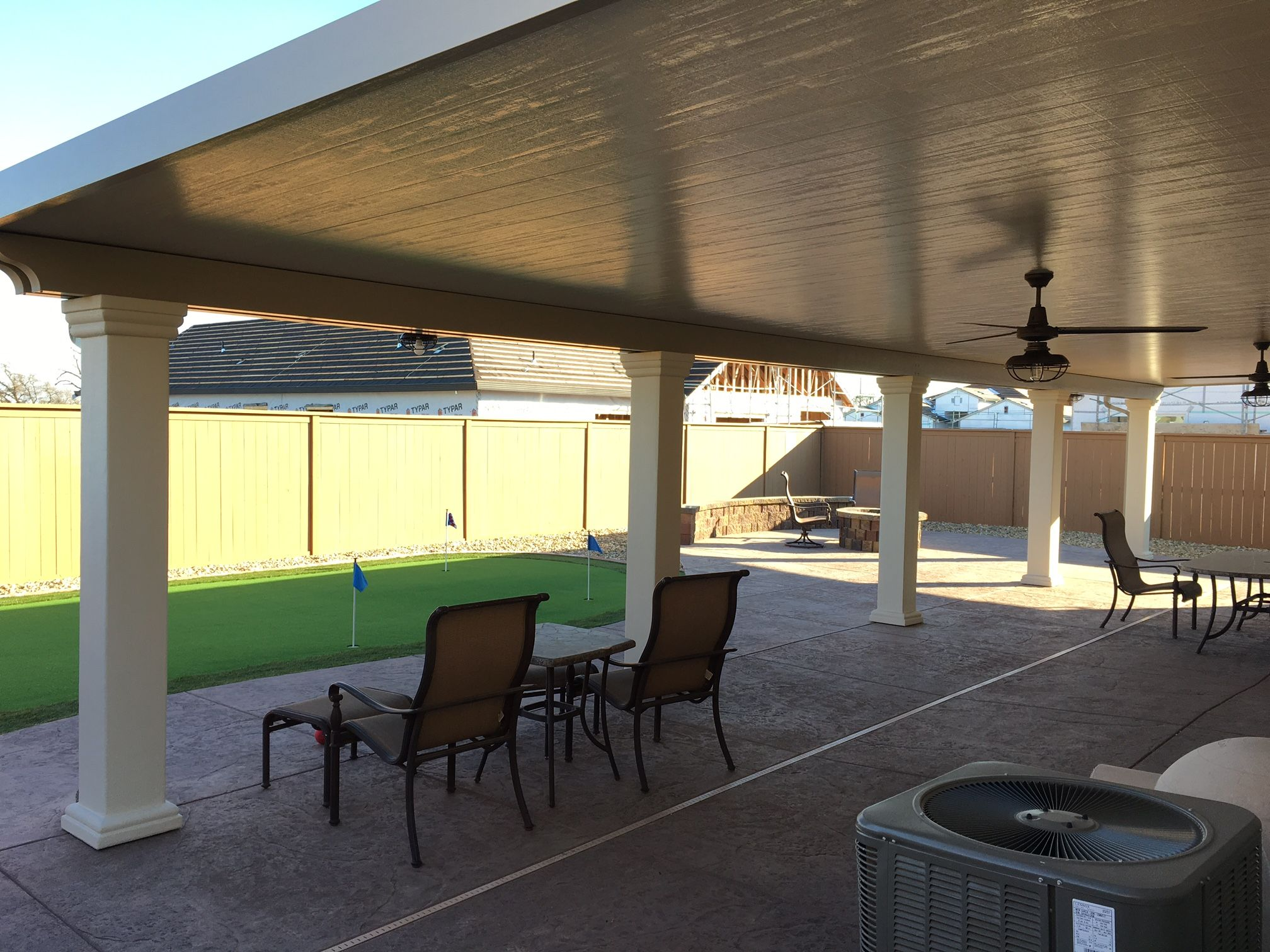 Solid Patio Covers With Images Patio Aluminum Patio Covers Backyard Patio Designs