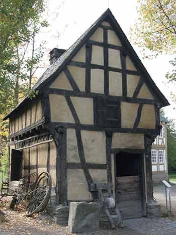 lloyd s blog frankfurt book fair timber frame buildings the gutenberg press and. Black Bedroom Furniture Sets. Home Design Ideas