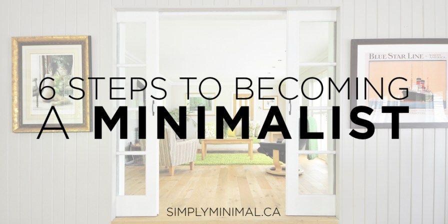 6 Steps to a Minimalist Minimalist, How to