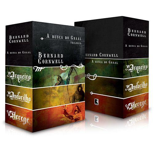 Livro Box A Busca Do Graal 3 Volumes Edicao Economica Book
