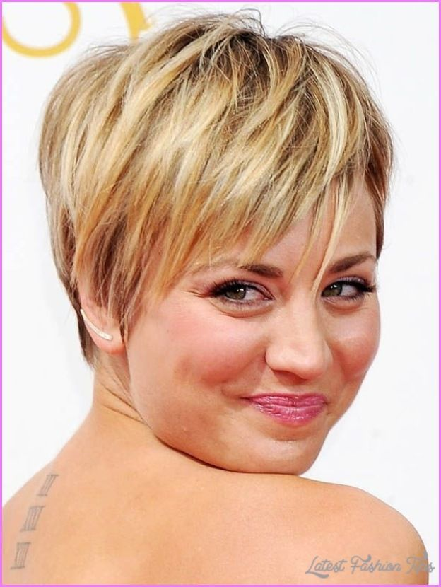 Awesome Images Short Haircuts For Round Faces Latestfashiontips - Haircut for round face pinterest