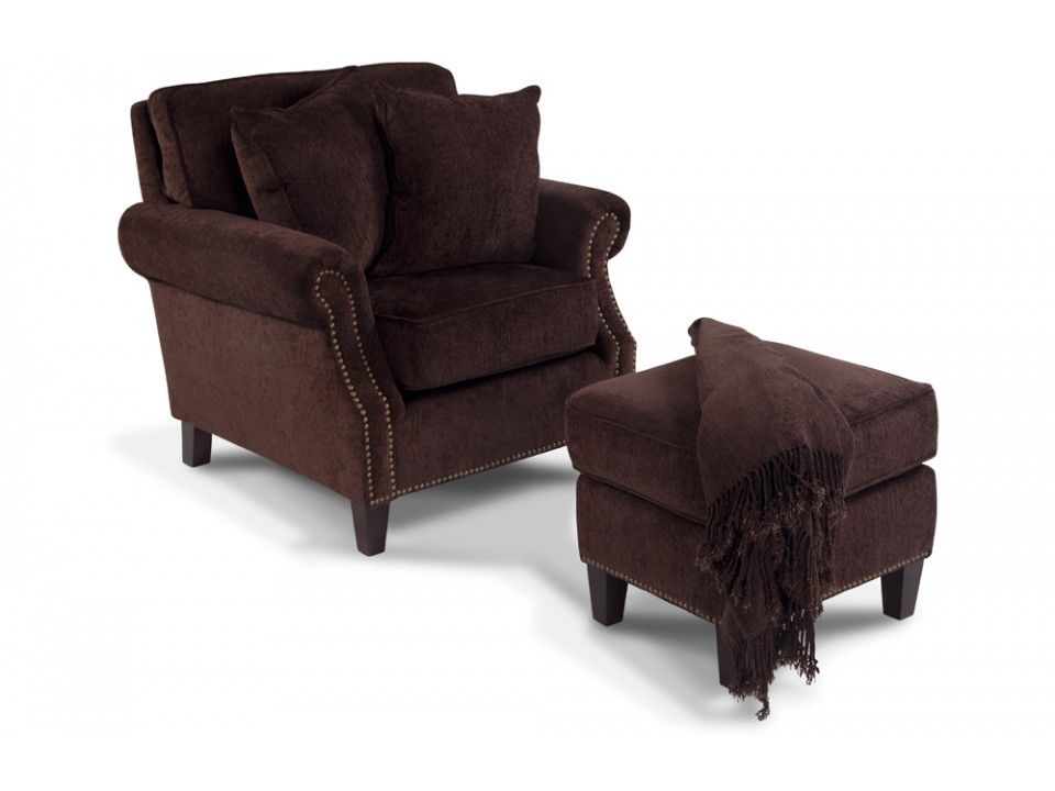 Mirage Chair U0026 Ottoman | Accent Chairs | Living Room | Bobu0027s Discount  Furniture