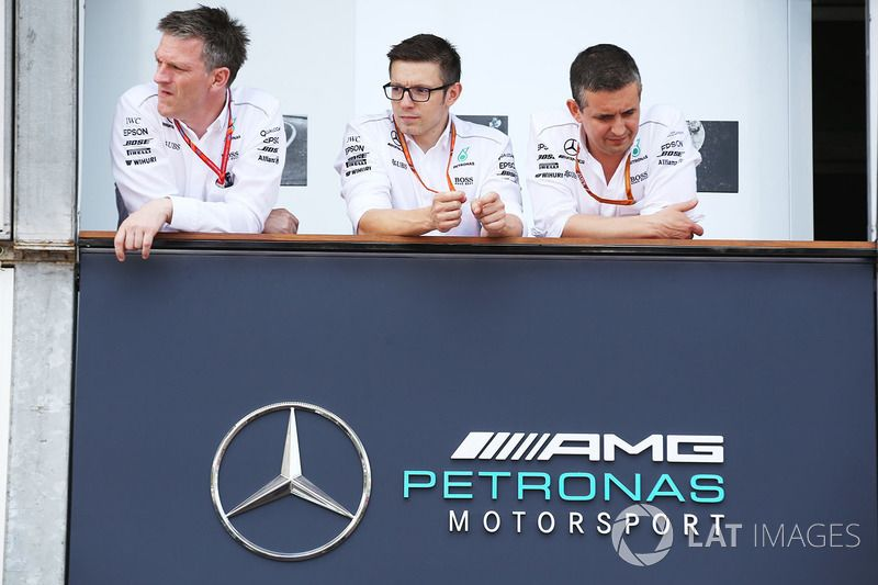 James Allison Technical Director Mercedes Amg F Peter