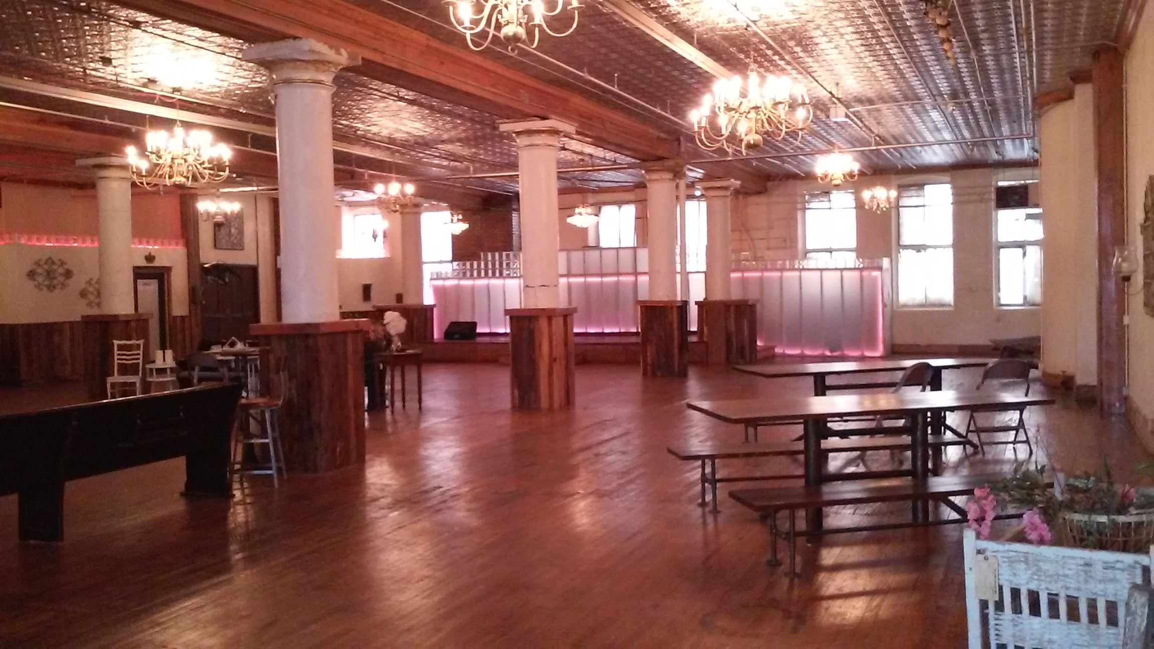 Rumely Tractor Event Space
