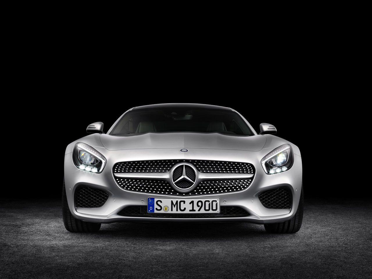 2016 MercedesAMG GT front Mercedes benz, Süper araba