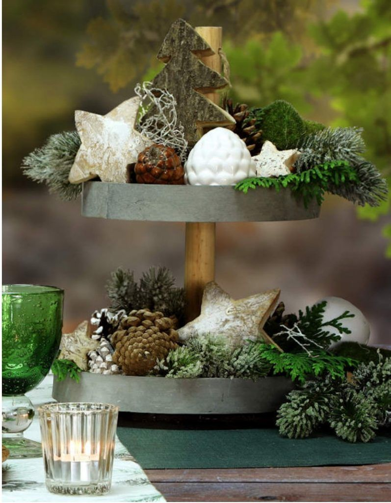 How To Style A Tiered Tray For Quick And Easy Decor Finding Sea Turtles Simple Decor Decor Christmas Projects Diy