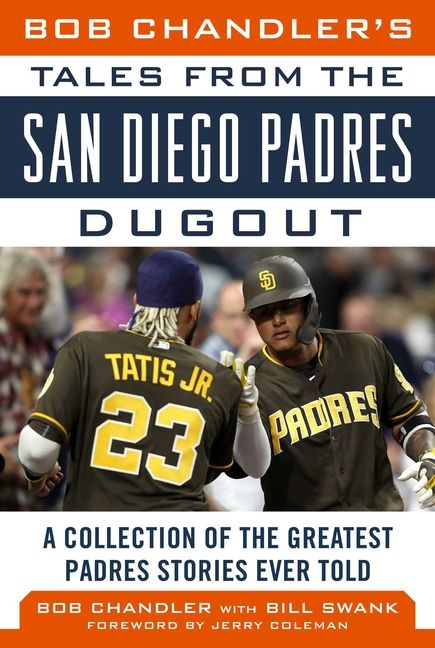 Since they burst onto the scene in 1969, the San Diego Padres have taken fans on a roller-coaster ride of ups, downs, and unforgettable moments. In this newly revised edition of Bob Chandler's Tales from the San Diego Padres Dugout, longtime Padres announcer Bob Chandler shares his memories of the team with Bill Swank in an easy-to-read recap of the team's colorful past.  Chandler and Swank utilize their numerous contacts to bring readers many inside stories and humorous anecdotes dating back to