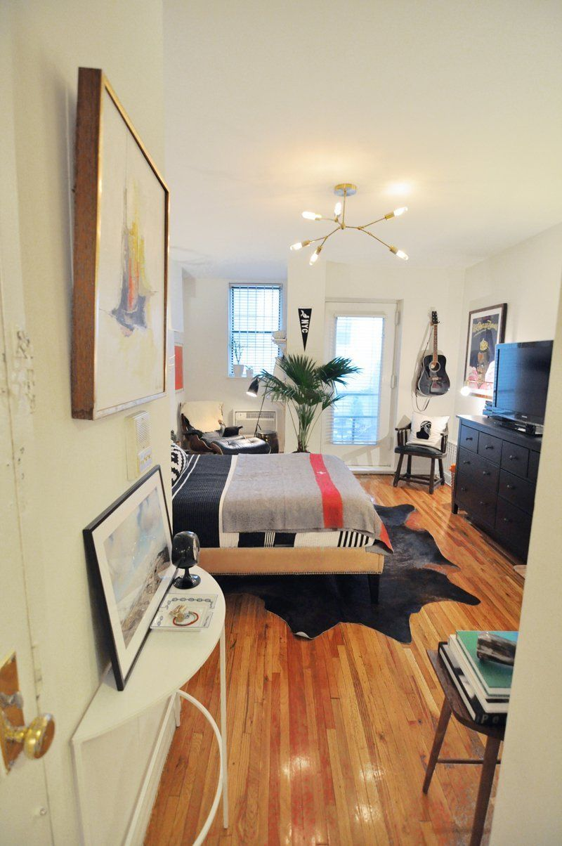 Best Evan's Modern Cozy Manhattan Studio Small Apartment 400 x 300