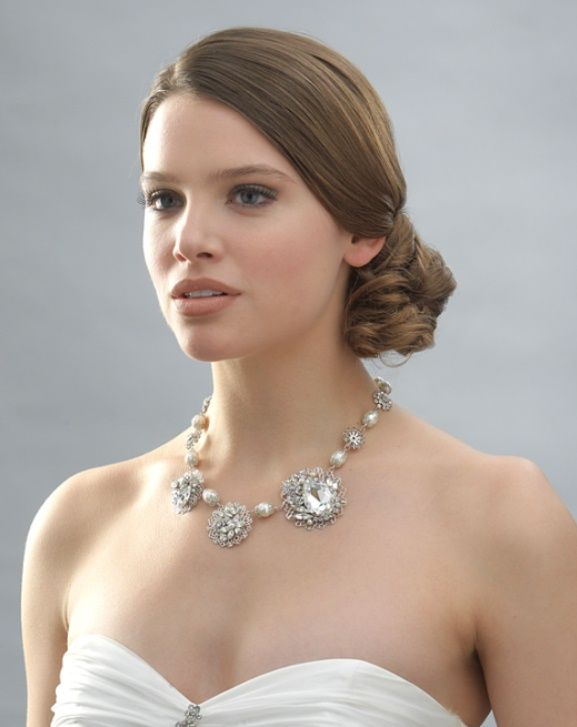 white and silver wedding theme weddings romantique wedding statement necklacessilver
