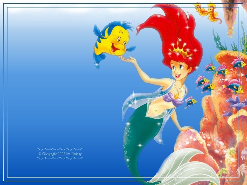 Disney Princess Wallpaper Ariel