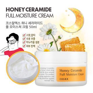 Buy Cosrx Honey Ceramide Full Moisture Cream 50ml At Yesstyle Com Quality Products At Remarkable Prices Free Worldwi Moisturizer Ceramides Self Tanning Spray