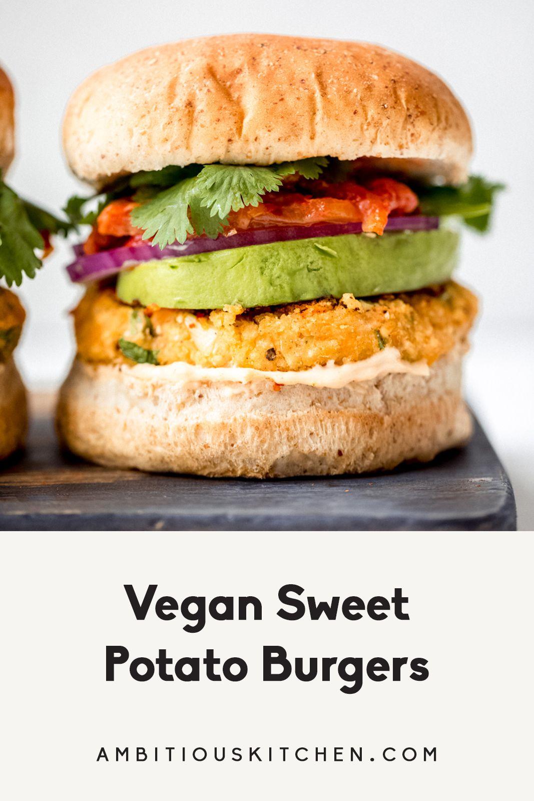 Vegan Sweet Potato Burgers Recipe Vegan Sweet Potato Burger Sweet Potato Burgers Vegan Sweet Potato