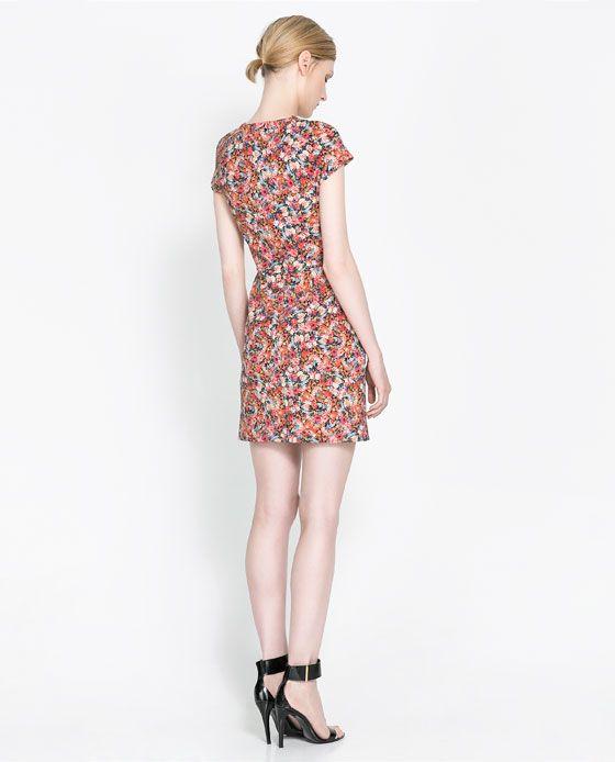 ZARA - MUJER - VESTIDO ESTAMPADO | Women\'s fashion | Pinterest ...