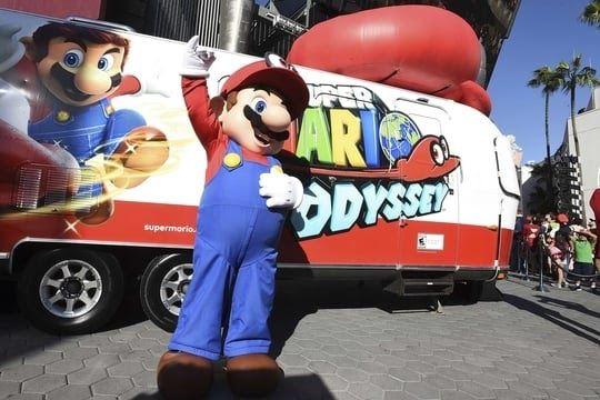 Super Mario Odyssey Les Notes Incroyables Du Nouveau Jeu Nintendo Jeux Nintendo Super Mario Super Mario Bros