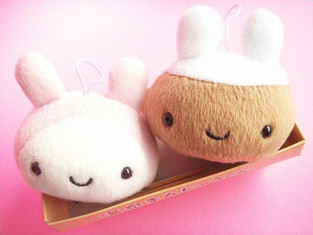 Kawaii Bunny Costume Onsen Manju Kun Small Plush Ornament | Patrones ...