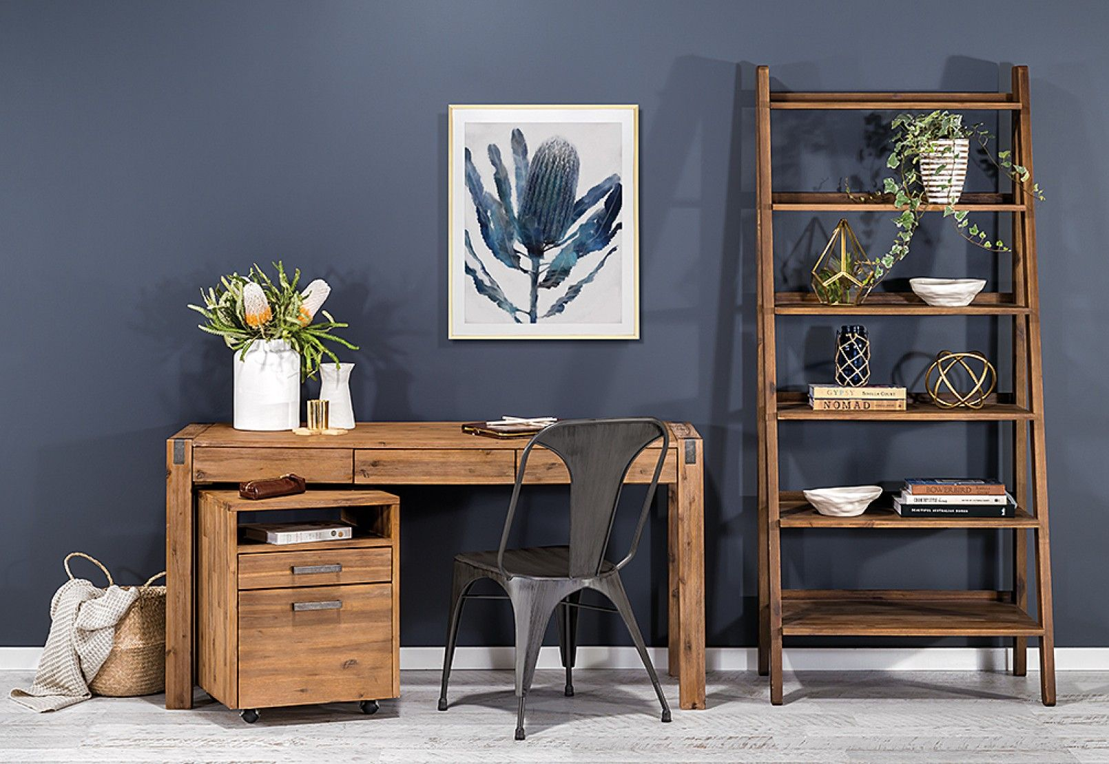 Love this shade of wood - prefer black accents. Silverwood ...