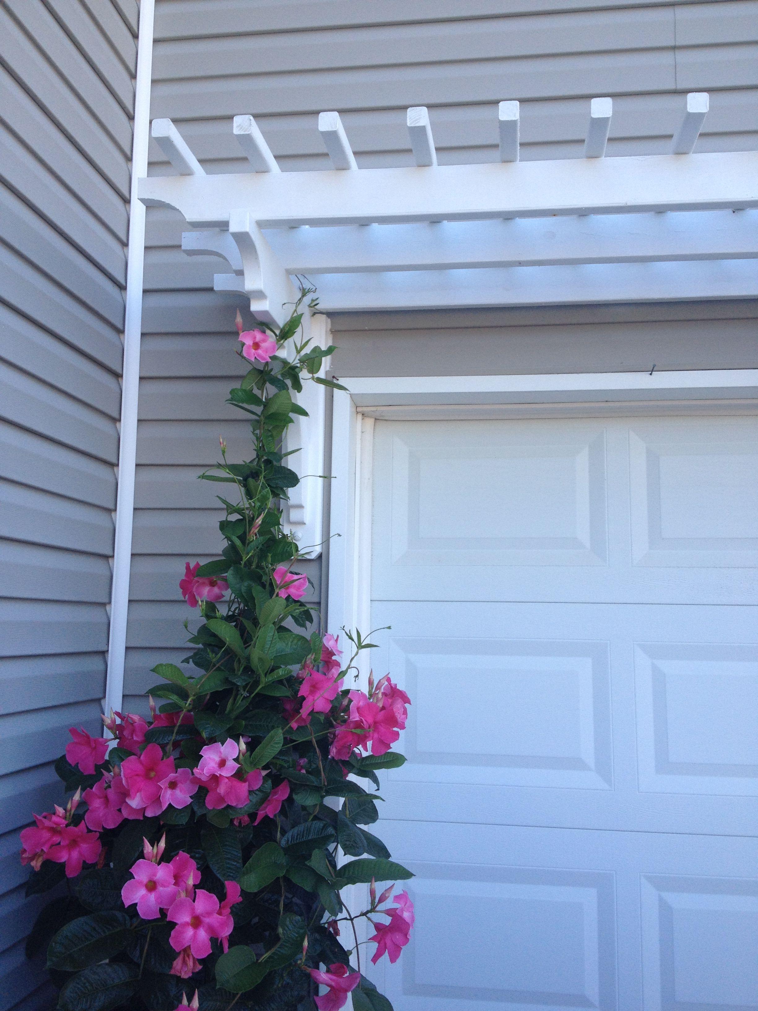 Arbor over garage | Garage pergola diy, Pergola shade ...