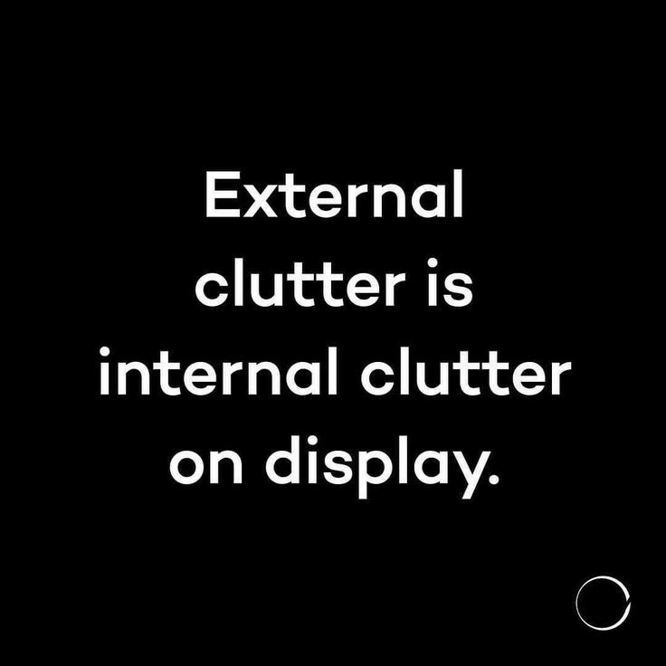 Home Page #declutter