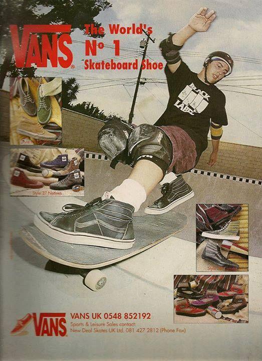 skateboard freestyle vans