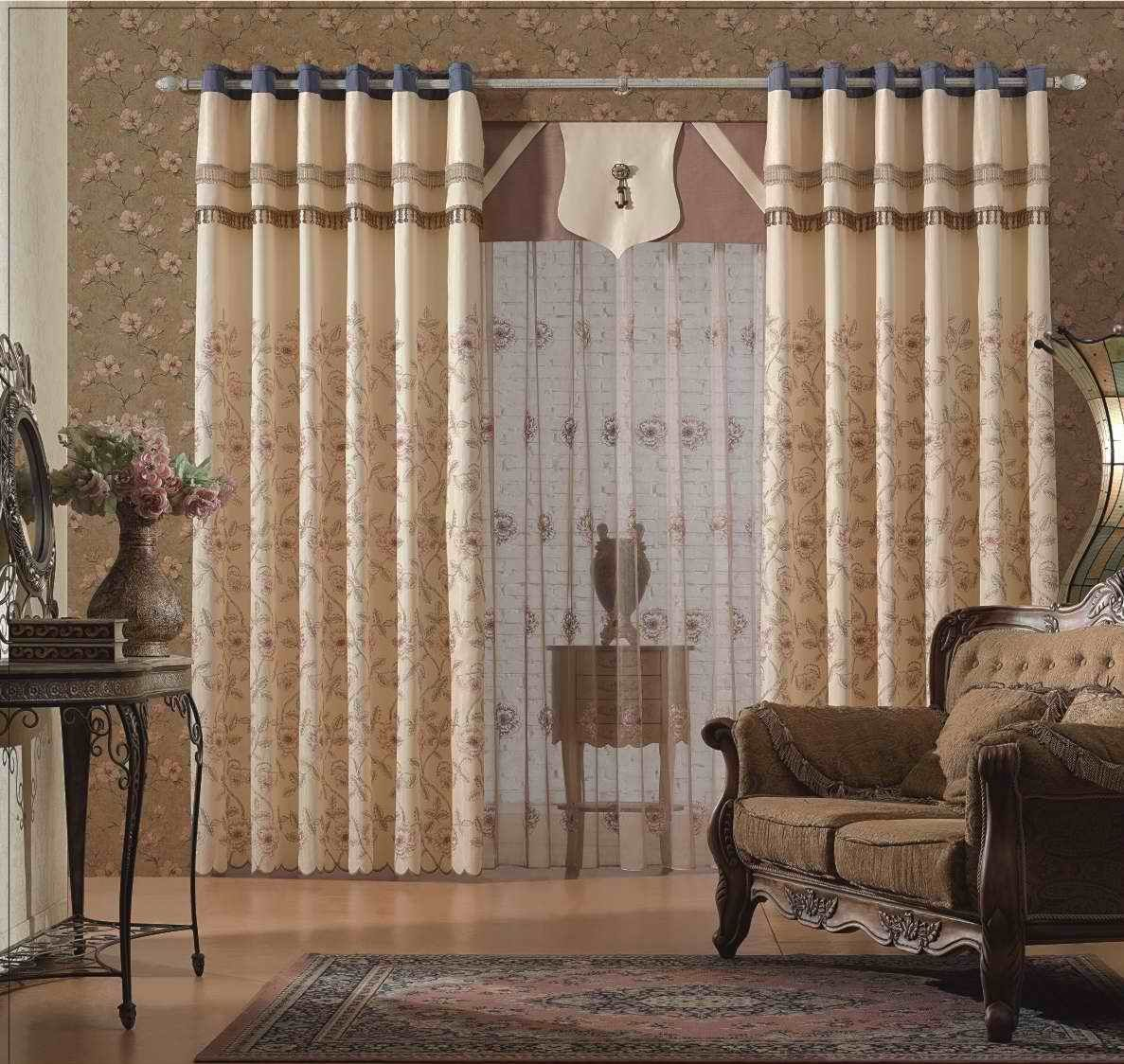 Pleasing Spiffy Living Curtain Ideas With Eyelet Heading For Luxury Livingroom  Decoration Ideas And Amusing Pattern Nice Design
