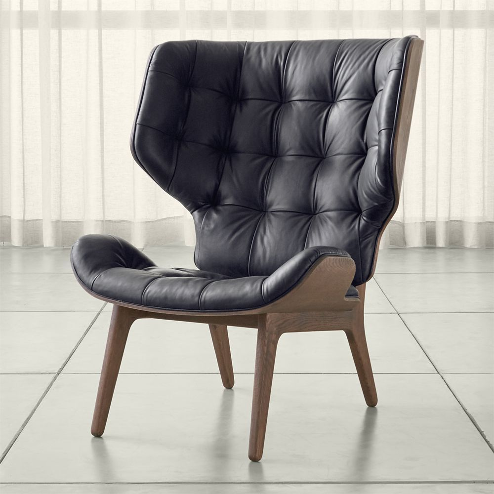 Mammoth Leather Chair Crate And Barrel