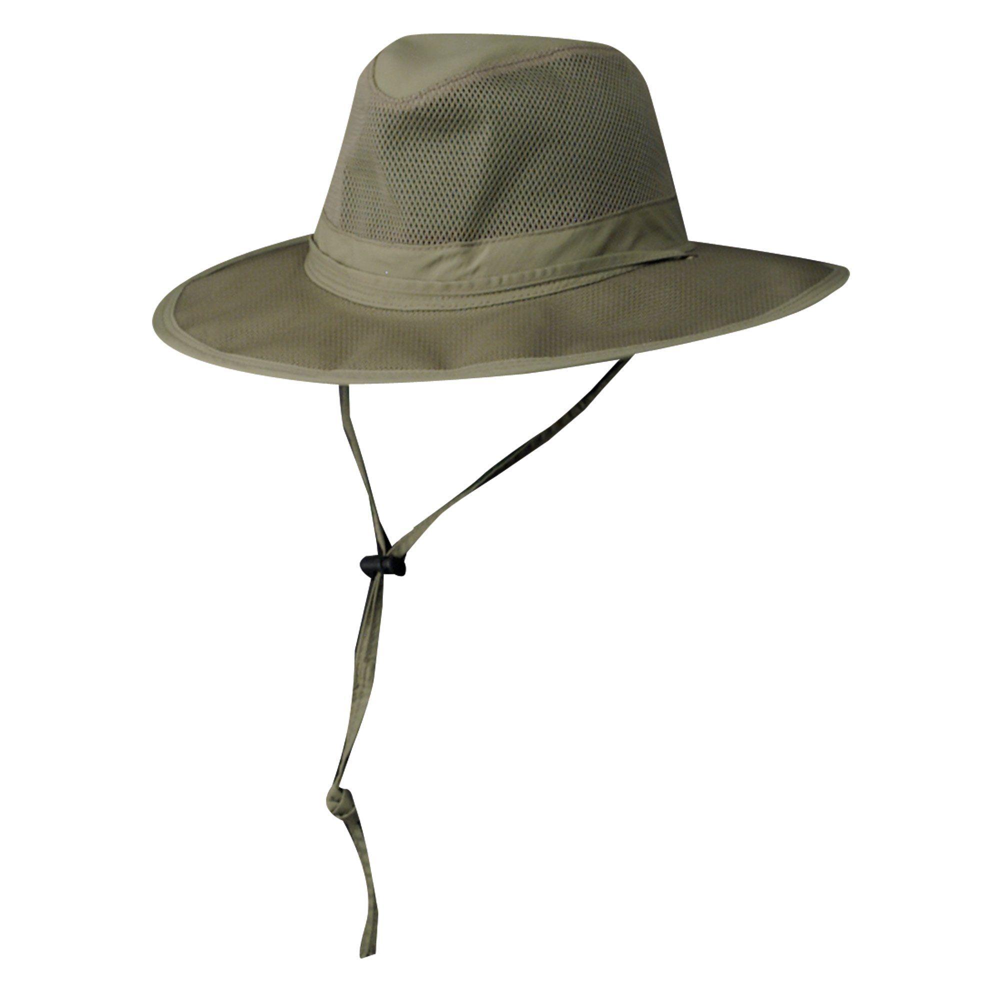 DPC Outdoor Design Men/'s Mesh Crown Safari Hat