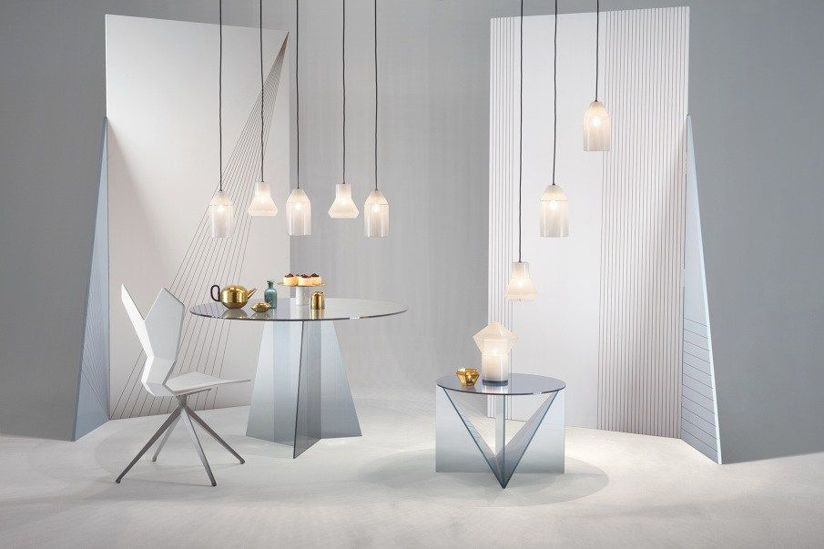 Sculptural Aesthetic And Precious Materials The Tom Dixon Feel At Imm Cologne Shabby Chic Coffee Table Lights Light Table