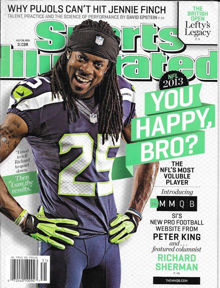 Sports Illustrated magazine Richard Sherman Jennie Finch