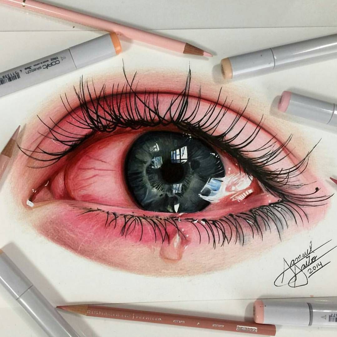 Instagram 上的 blvART™:「 Gorgeous drawing by @samuel_saito! Use #BLVART on your best art to be featured! #drawing #pencildrawing #photorealism #iris #irisdrawing… 」 #realisticeye