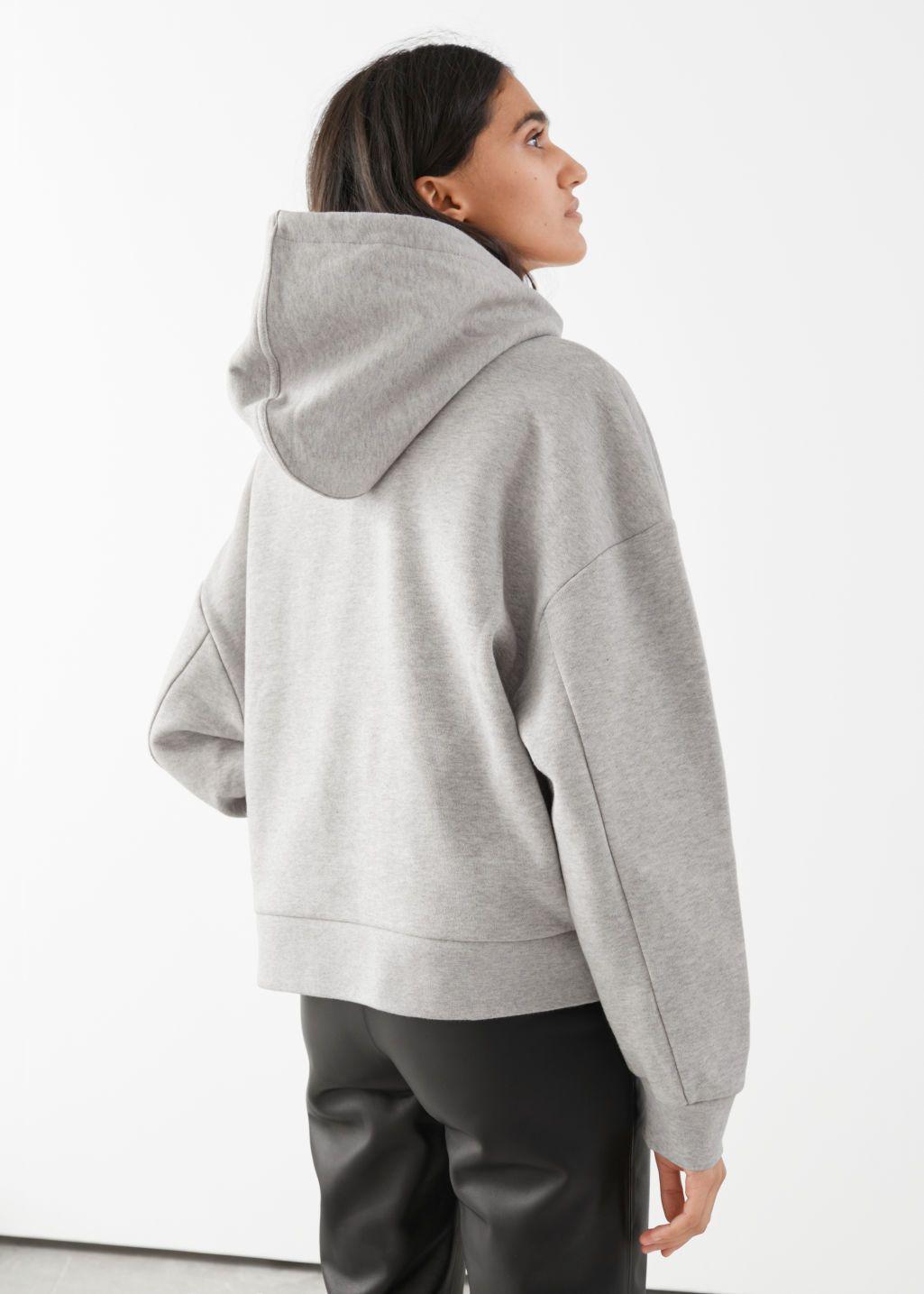 Oversized Boxy Hooded Sweatshirt Hooded Sweatshirts Sweatshirts Hoodies [ 1435 x 1025 Pixel ]