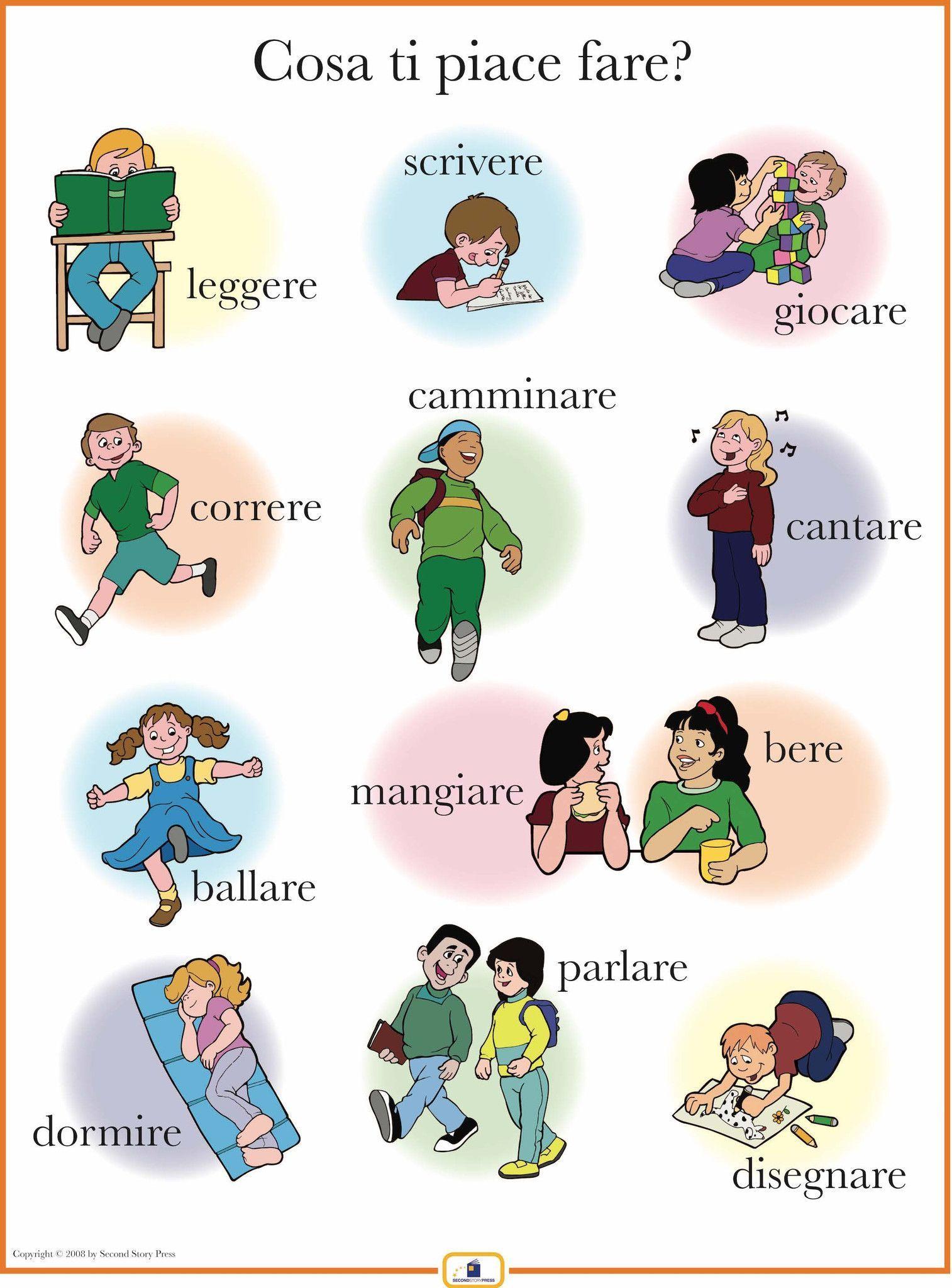 Italian Activities Poster