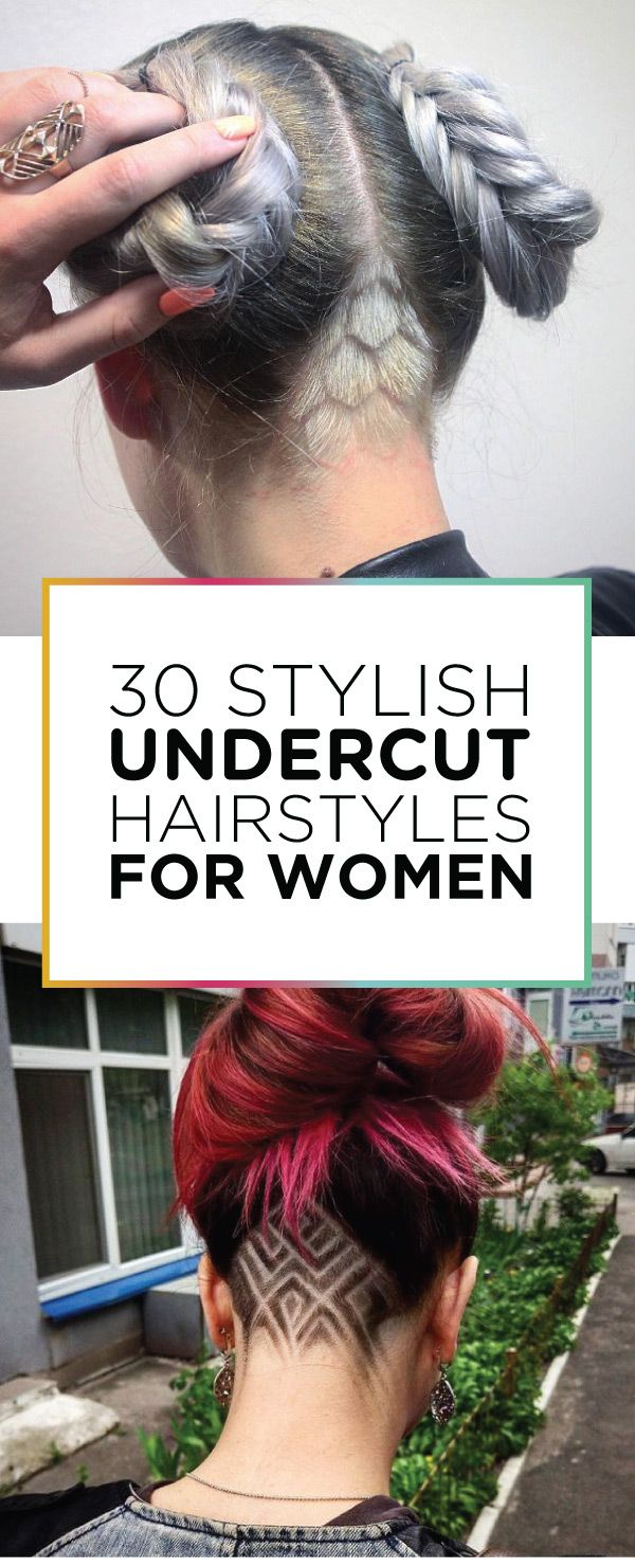 30 Sylish Undercut Hairstyles For Women Hair Styles