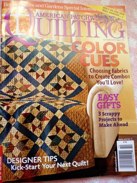 The project: Pumpkin Wall hanging in this magazine would be great for my daughter. Got the magazine!