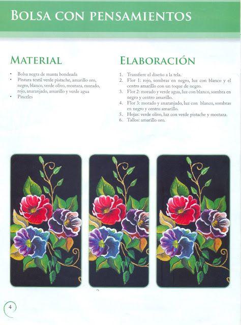 Pin de bella cordero en pintura tela flores   Pinterest   Pintura ...