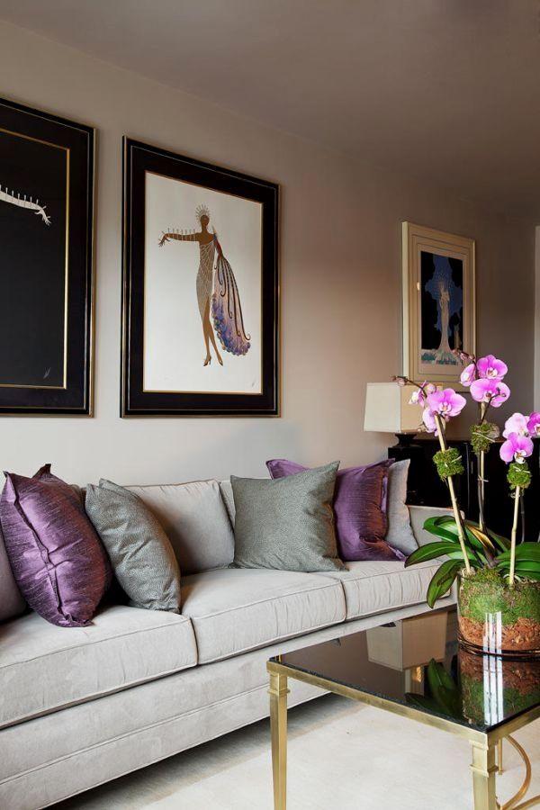 feng shui my living room | Purple living room, Plum living ...