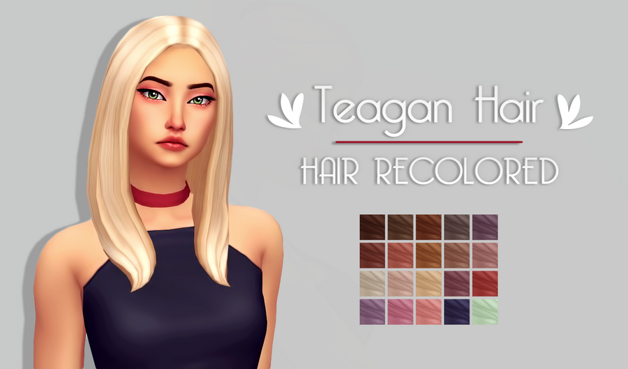 Teagan Hair   by @cupidjuice The original mesh is required
