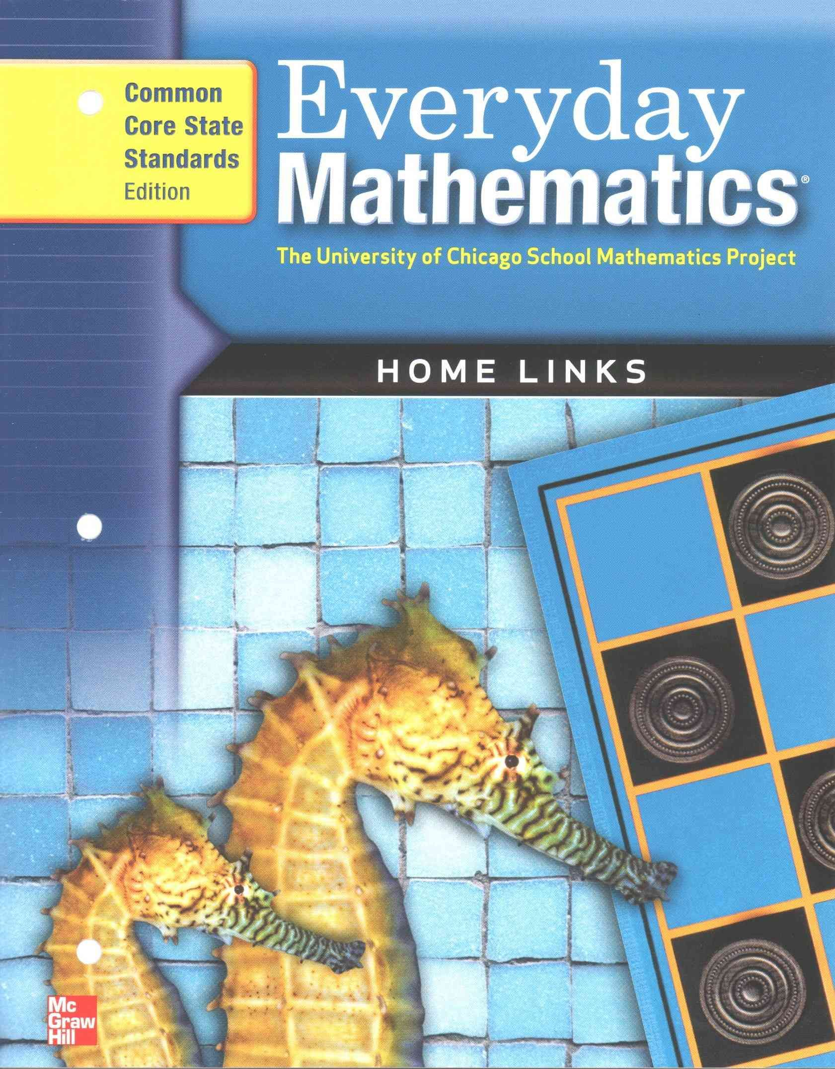 Everyday Mathematics Home Links Grade 2: Common Core State Standards ...