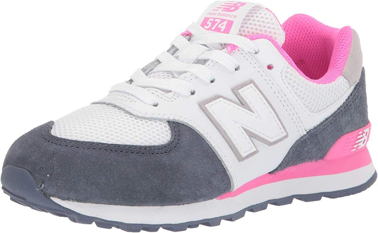 New Balance Girls' Iconic 574 V1 Running Shoe