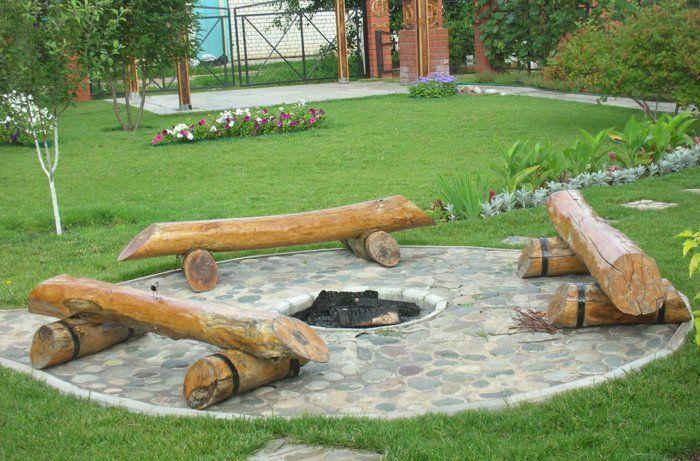 Grillstelle Bauen feuerstelle bauen eine idee für genussvolle gartenstunden