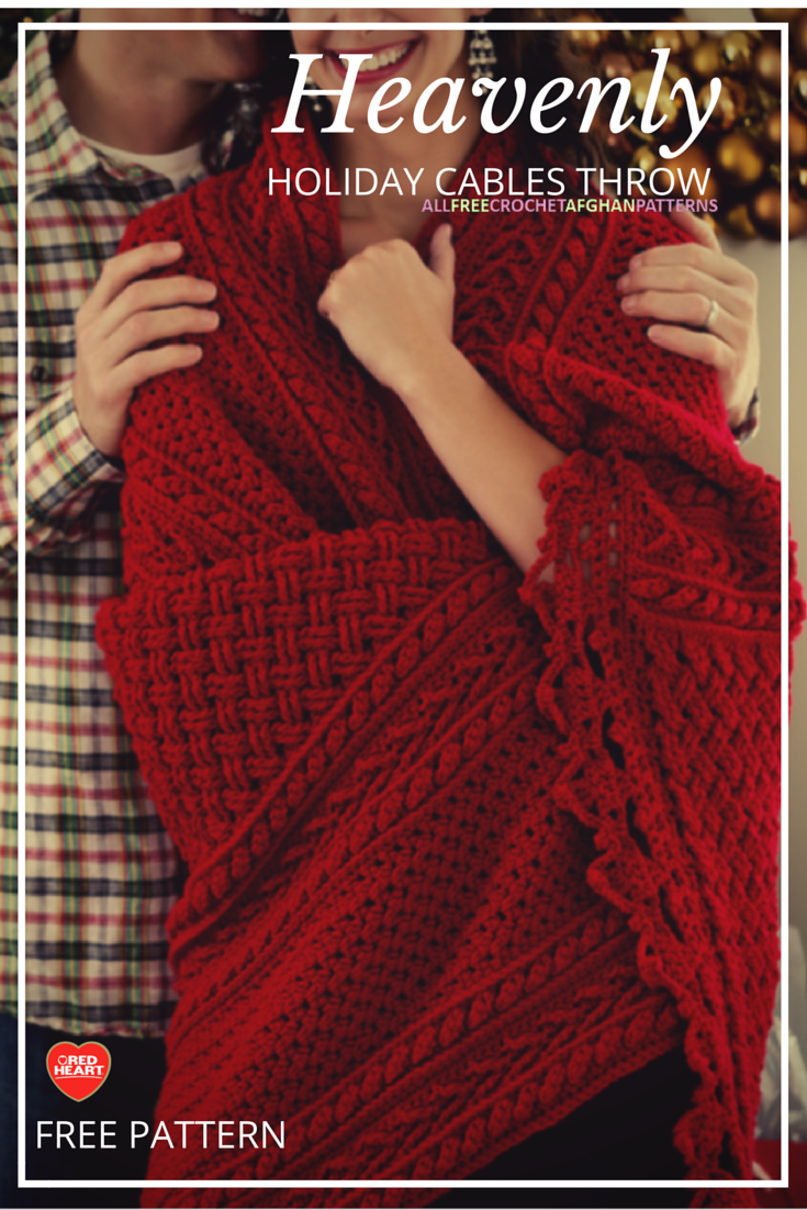 Red Heart Mile A Minute Afghan Pattern Best Inspiration Design