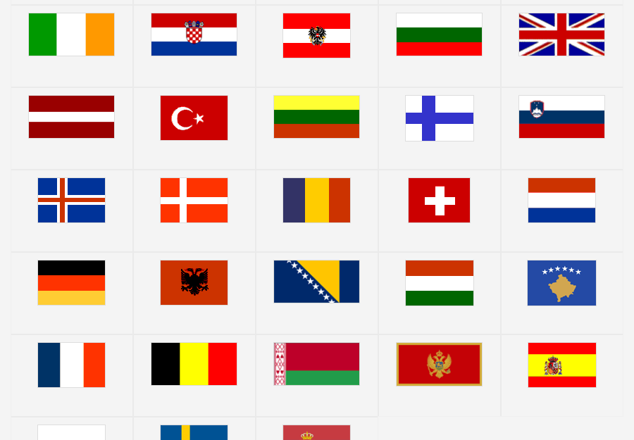 Europe Flags Map Quiz Game Europe Quiz European Flags Flag Of Europe