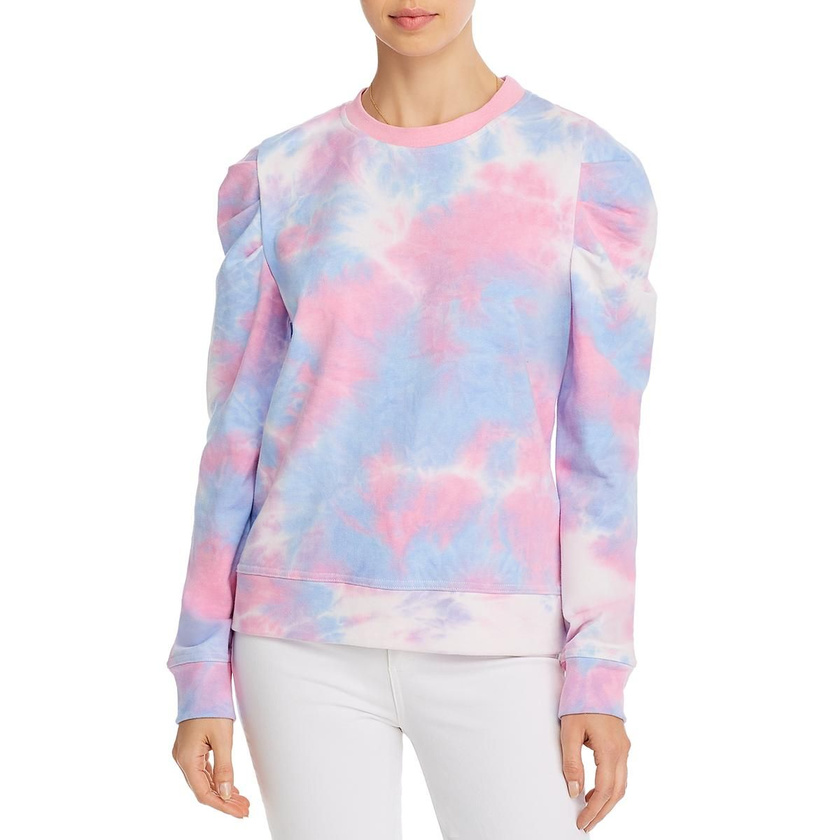 Aqua Womens Tie Dye Crew Neck Sweatshirt Pink Xs In 2021 Sweatshirts Tie Dye Sweatshirt Womens Tie [ 1200 x 1200 Pixel ]