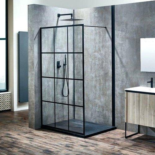 Majestic Metalcaft Fixed Glass Screen Shower Shower Screen Bathroom Trends Walk In Shower Enclosures